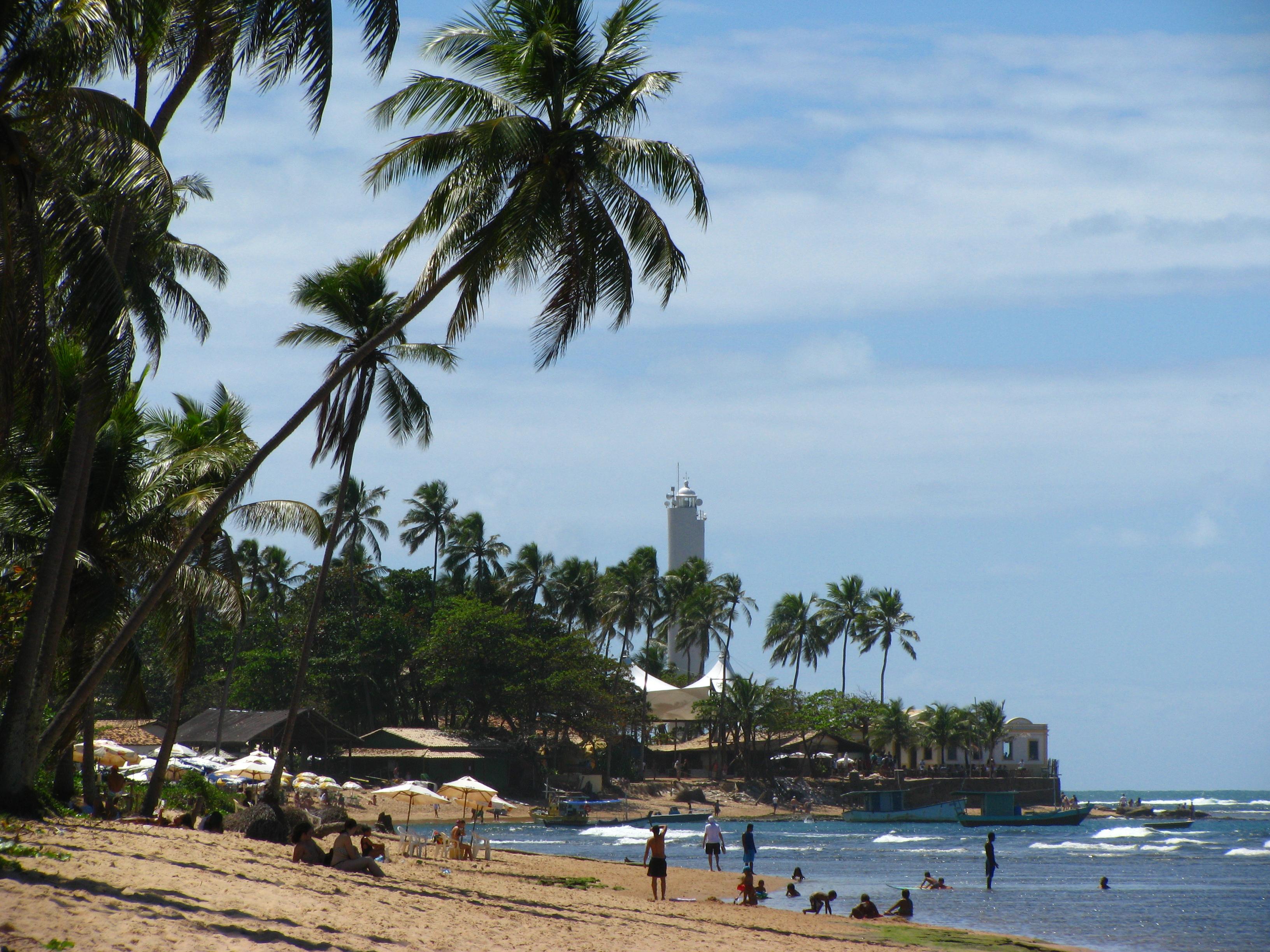 o que fazer na praia do forte vista da praia