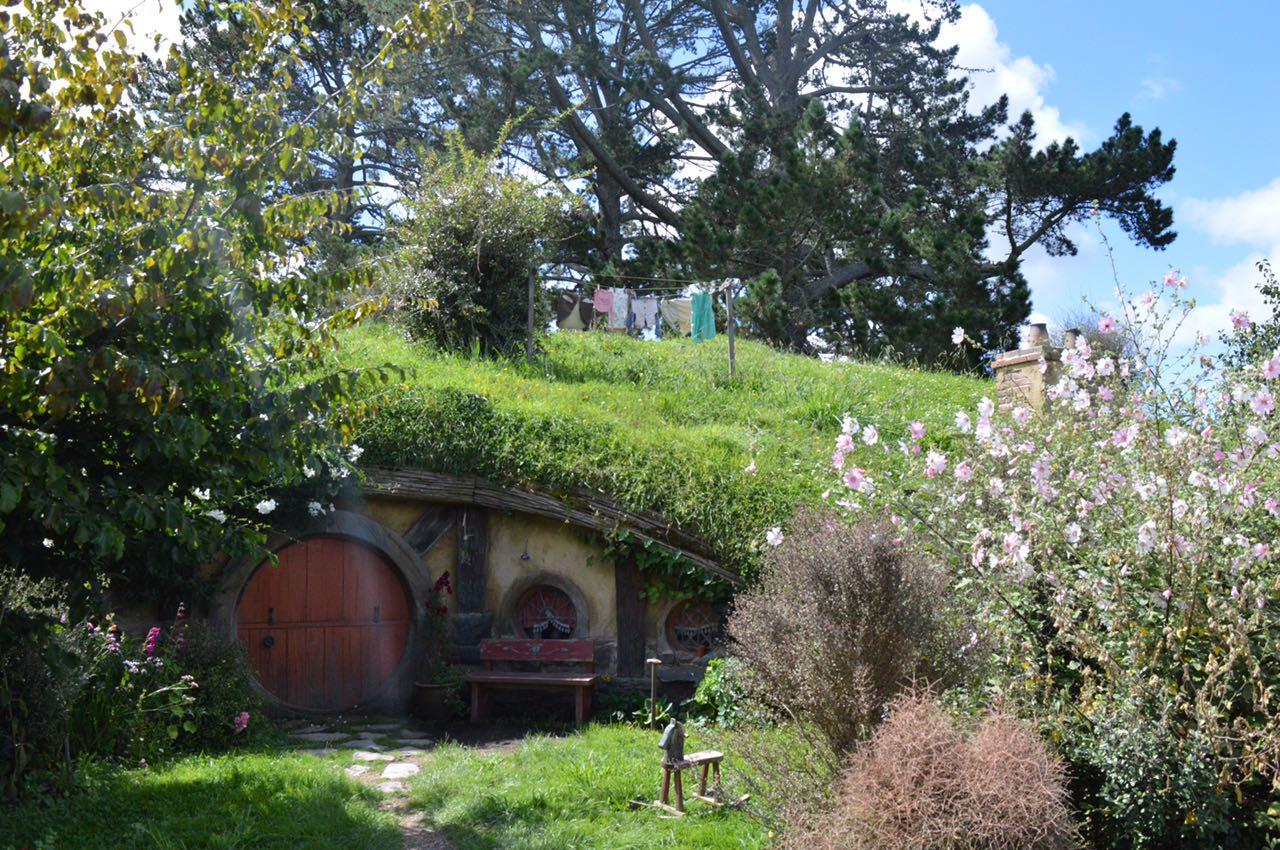o que fazer na nova zelândia Hobbiton movie set