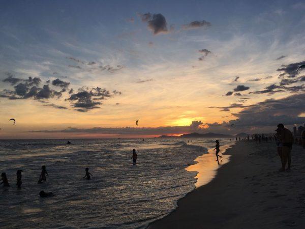o que fazer na barra da tijuca pôr do sol praia