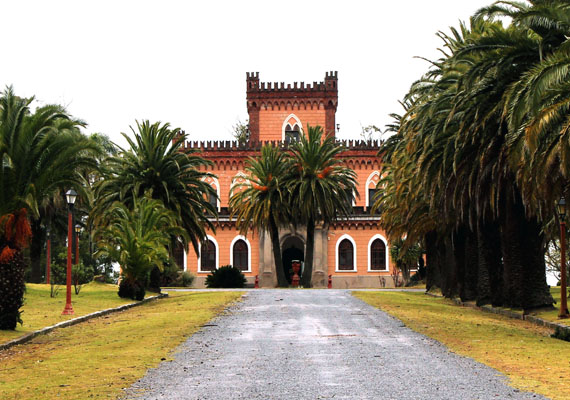 vista do castillo de piria piriápolis uruguai