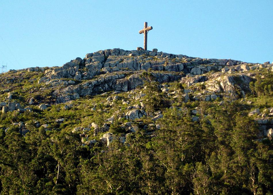 vista do Cerro Pan de Azúcar em Piriápolis Uruguai