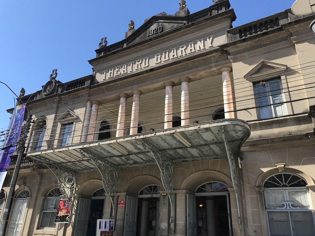 fachada teatro guarany pelotas