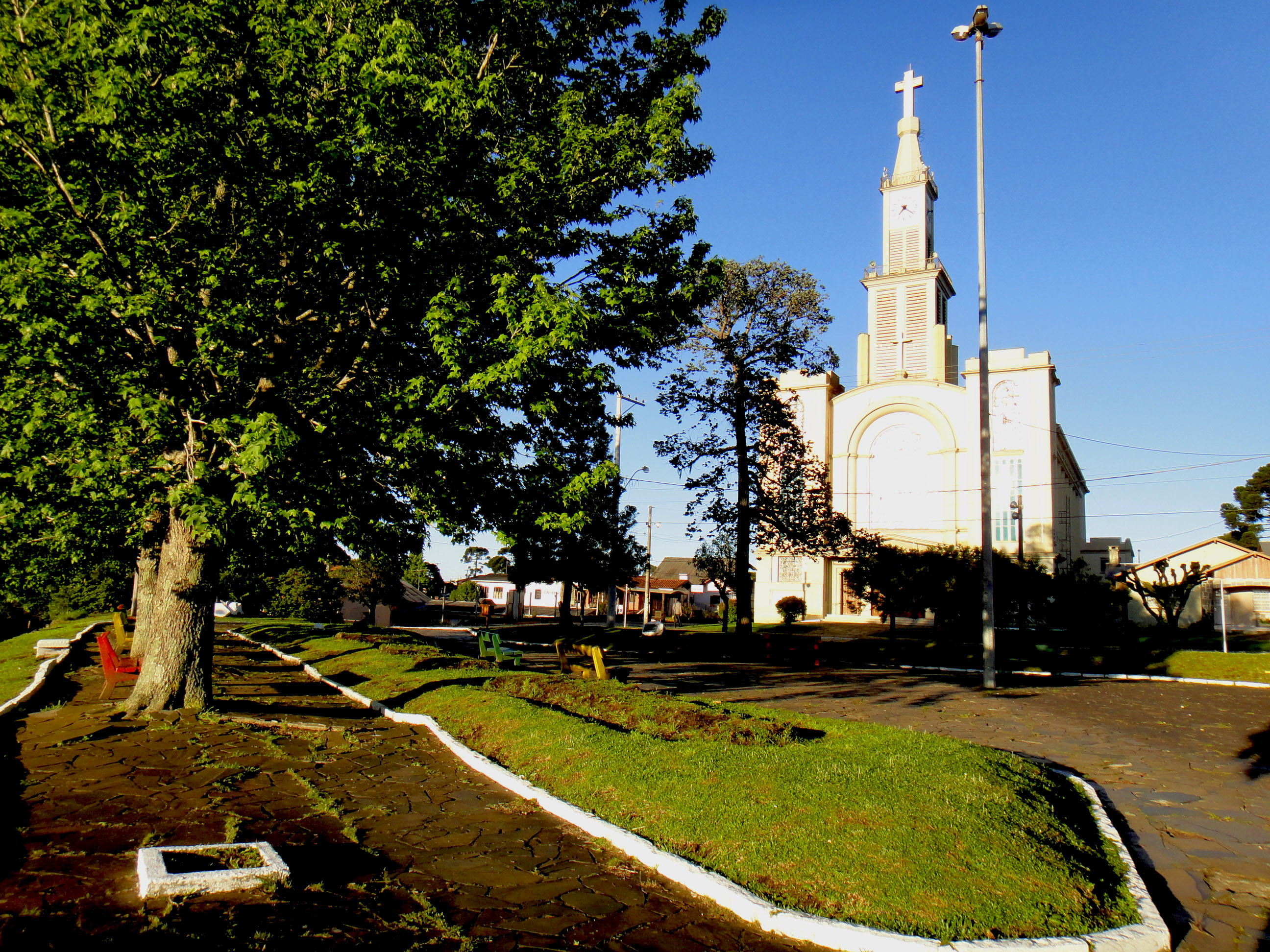 Igreja Matriz. Foto: Gabriela Teixeira