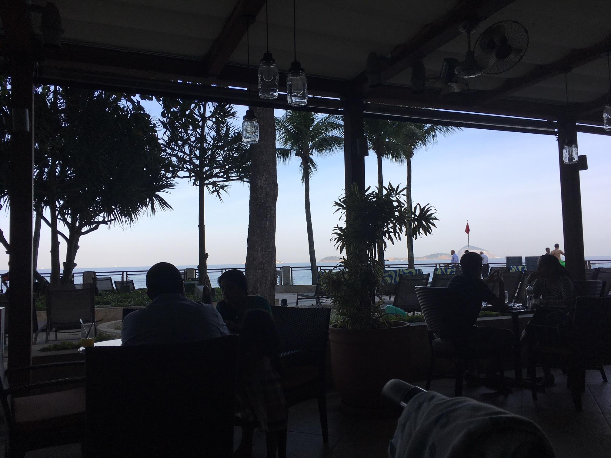 hotel sheraton rio vista do restaurante