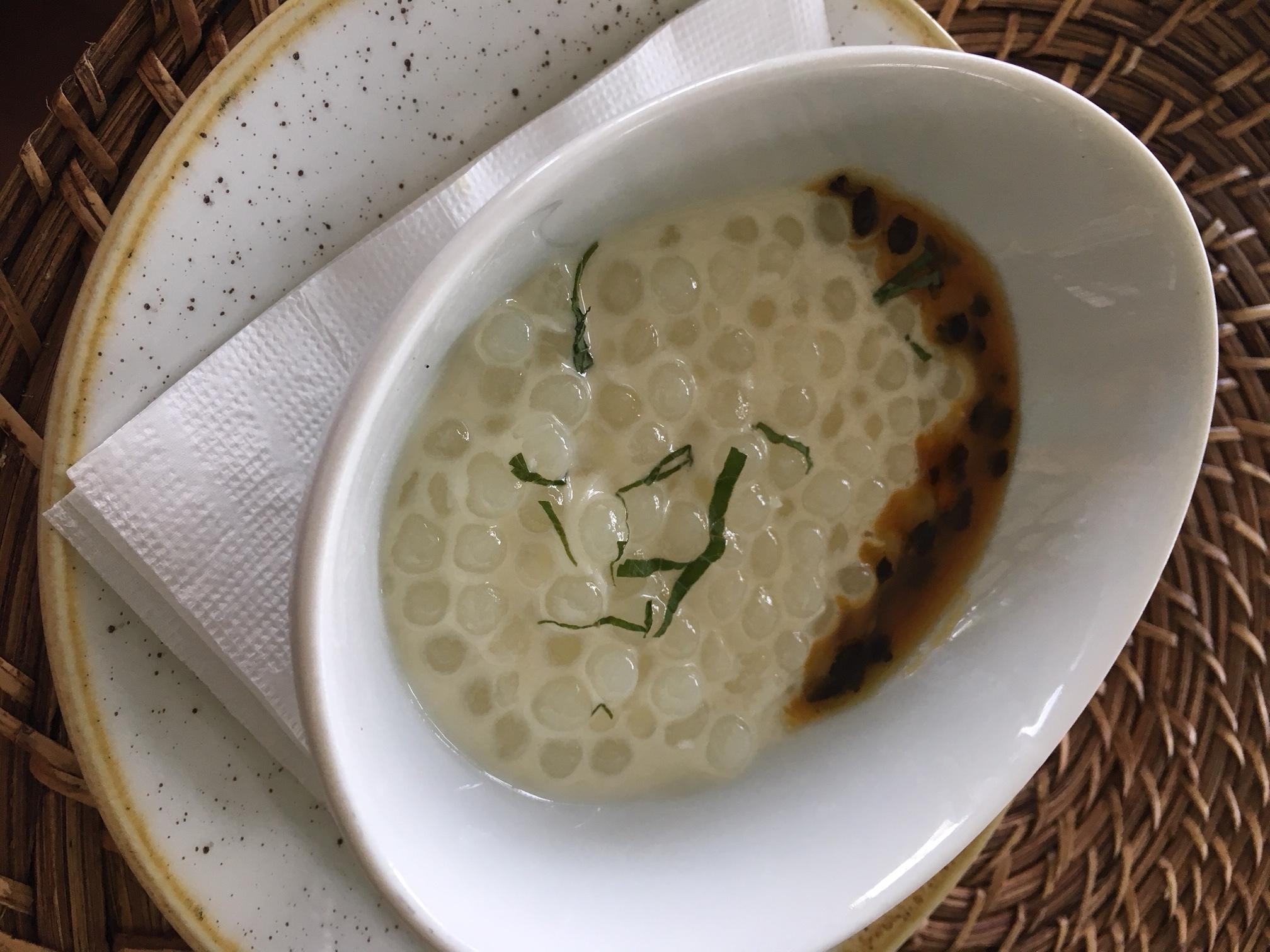 hotel sheraton rio sagu de coco com calda de maracujá