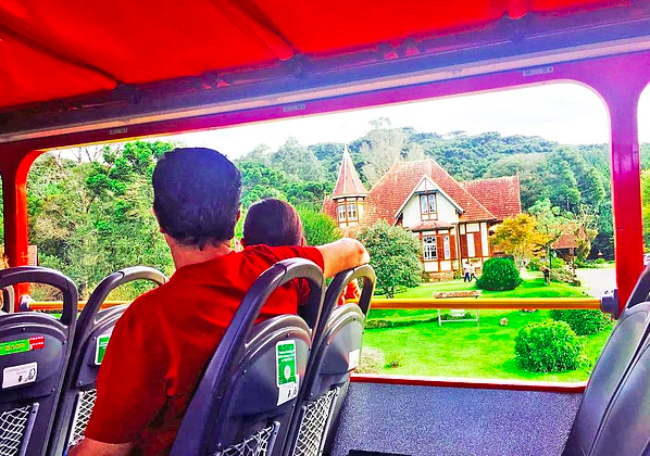 interior bus tour gramado