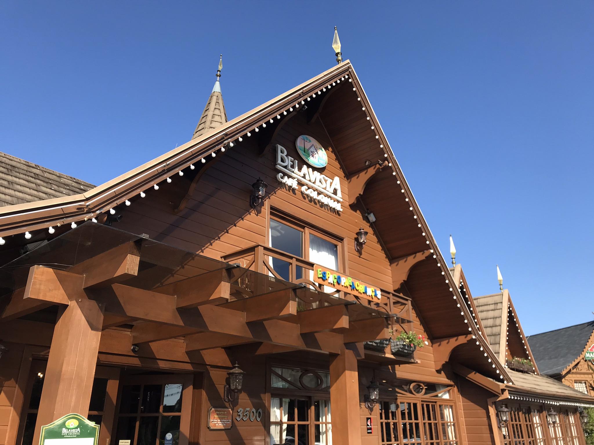 café colonial bela vista gramado fachada