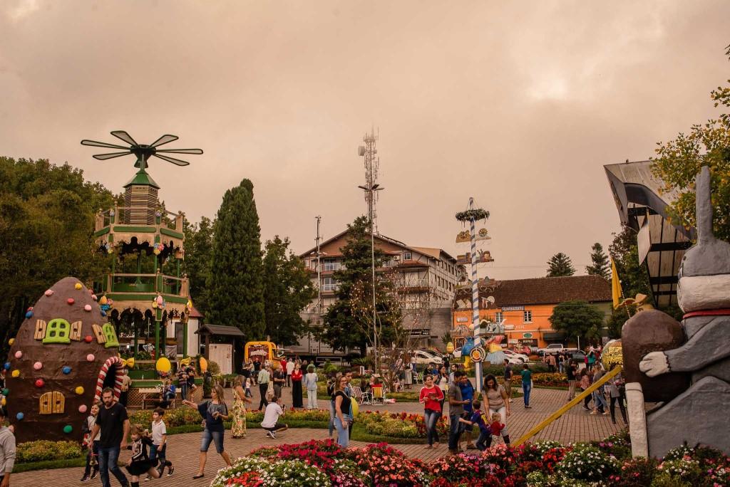 Assim como em 2018, ruas de Nova Petrópolis serão decoradas. Foto: Divulgação/Chocofest