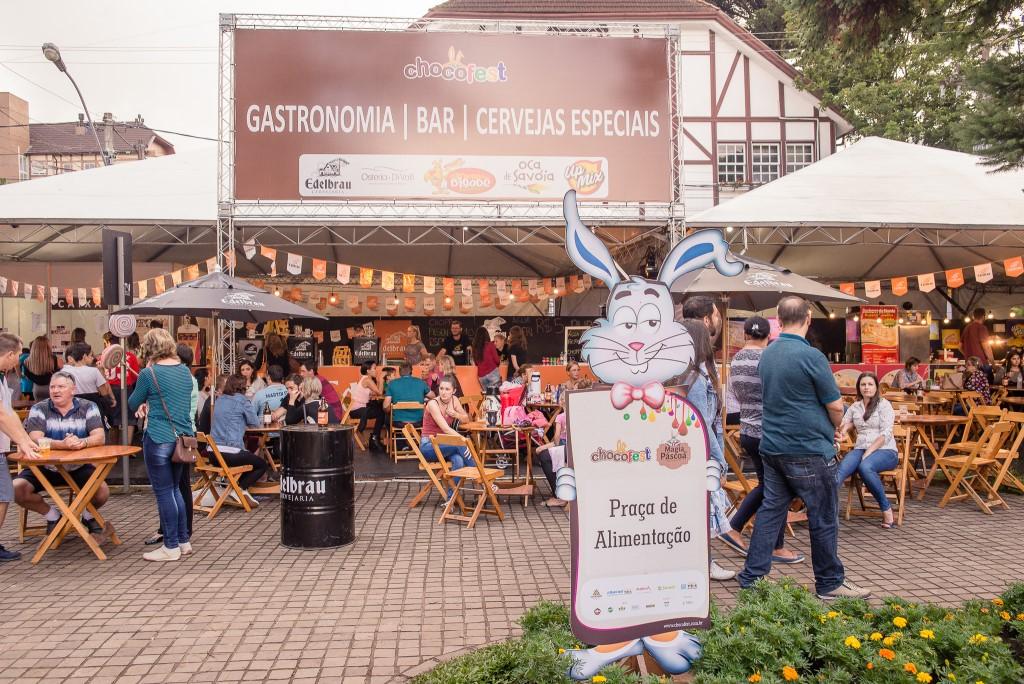 Chocofest reúne experiência de gastronomia e cultura. Foto: Divulgação/Chocofest