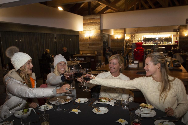 Alta gastronomia faz parte da experiência de viajante no Valle Nevado. Foto: Divulgação