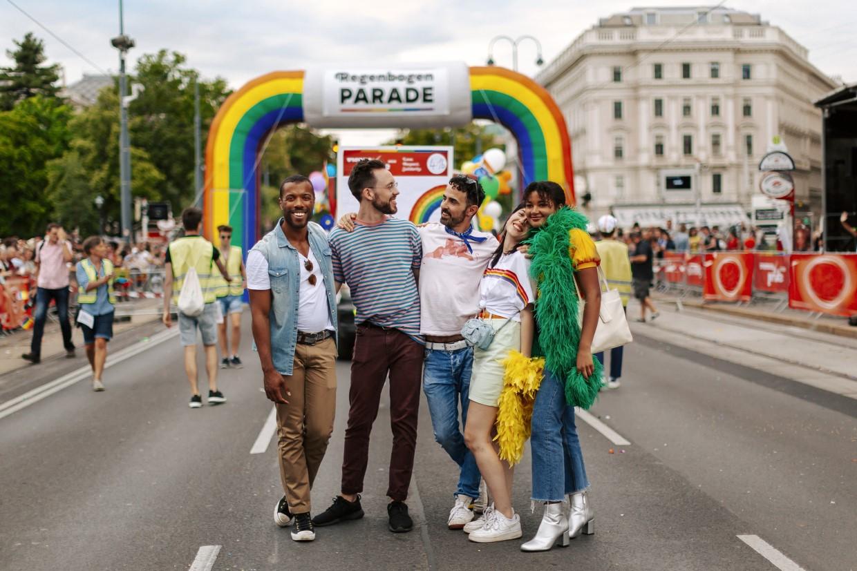 Europride 2019 é uma das principais dicas de Viena para este ano. Foto: Divulgação/Paul Bauer