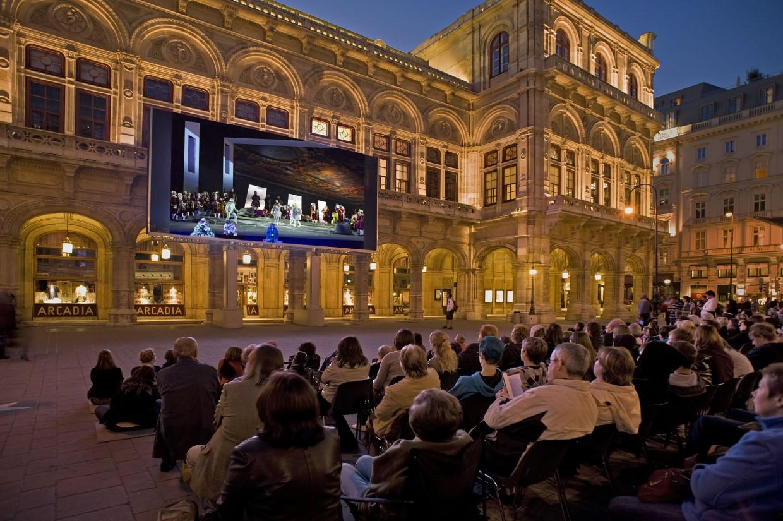 Programação ao ar livre promete ser o grande destaque da ópera em 2019. Foto: Divulgação/Michael Pöhn