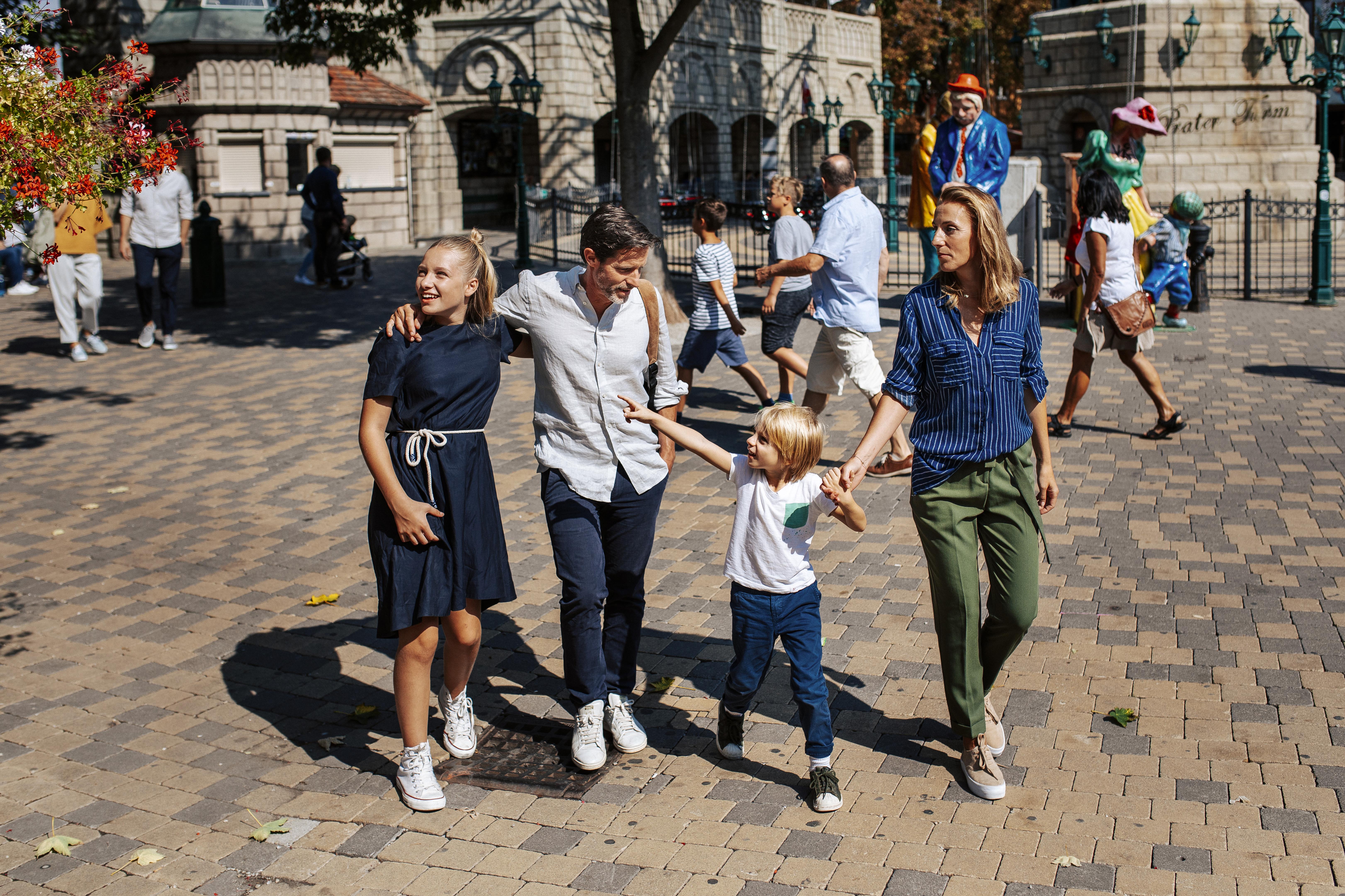 Viena é uma cidade preparada para entreter famílias com crianças. Foto: Divulgação/Paul Bauer