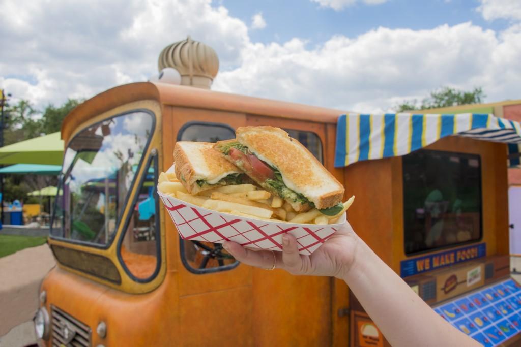Food trucks garantem lanches especiais para curtir a Vila Sésamo. Foto: Alexander Hobbs