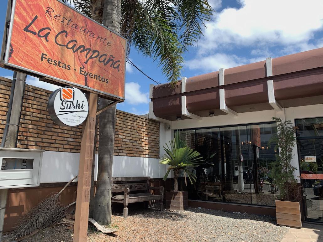 fachada restaurante la campaña