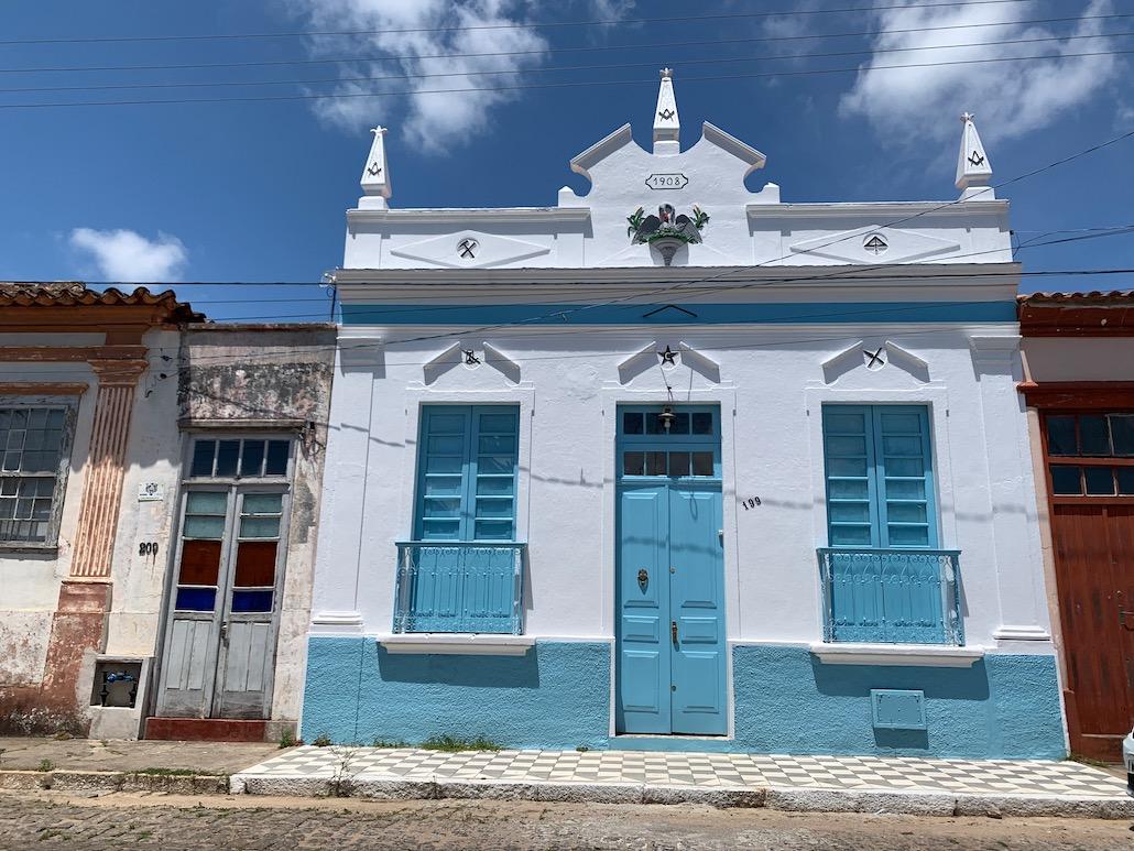 fachada da casa do comendador fabião