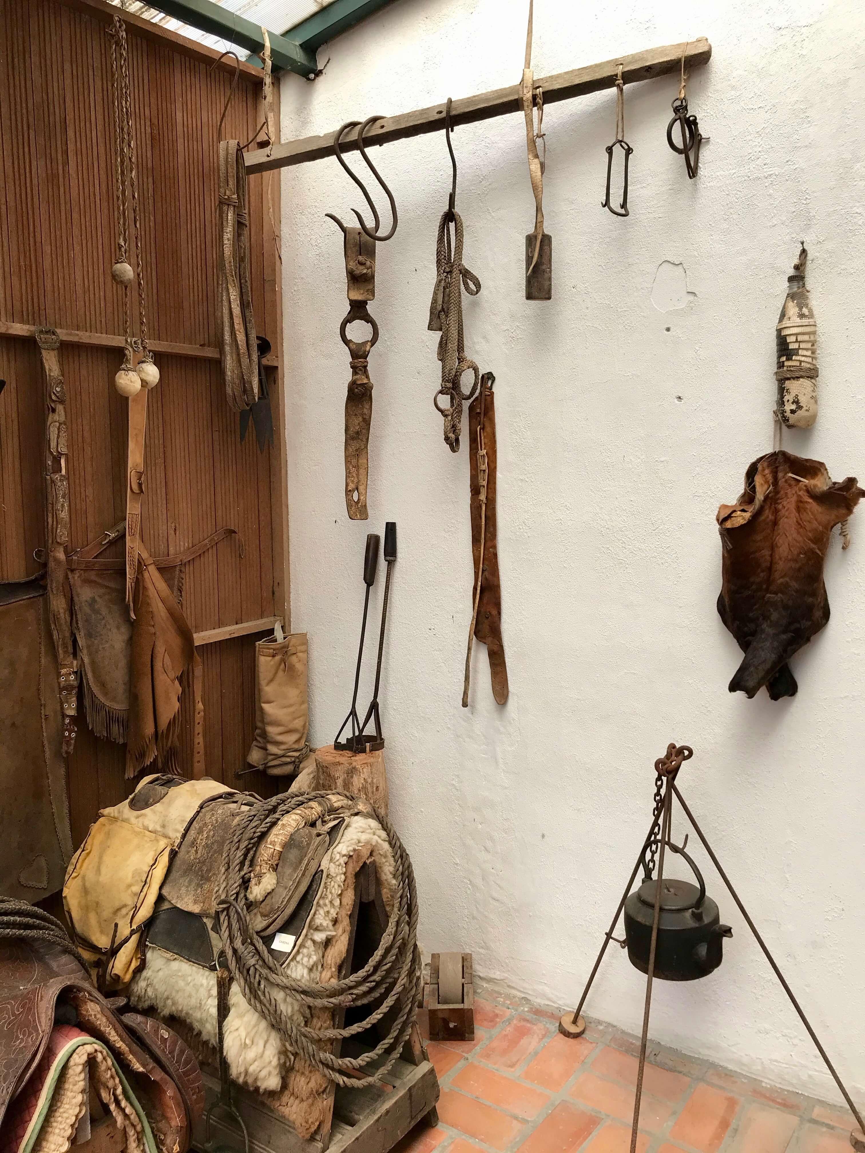 artefatos antigos gaúchos