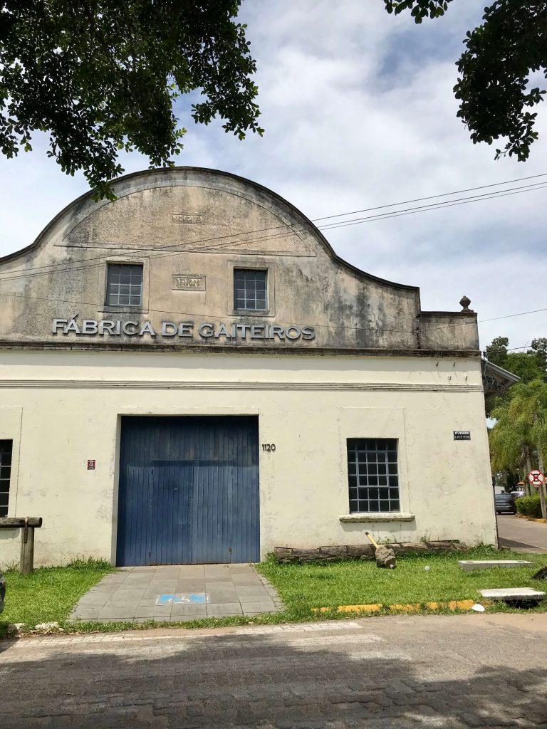 fachada do prédio fábrica dos gaiteiros