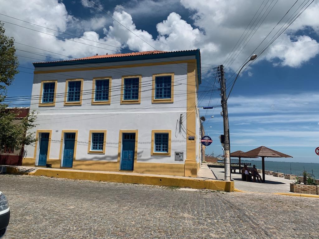 fachada de prédio da antiga alfândega
