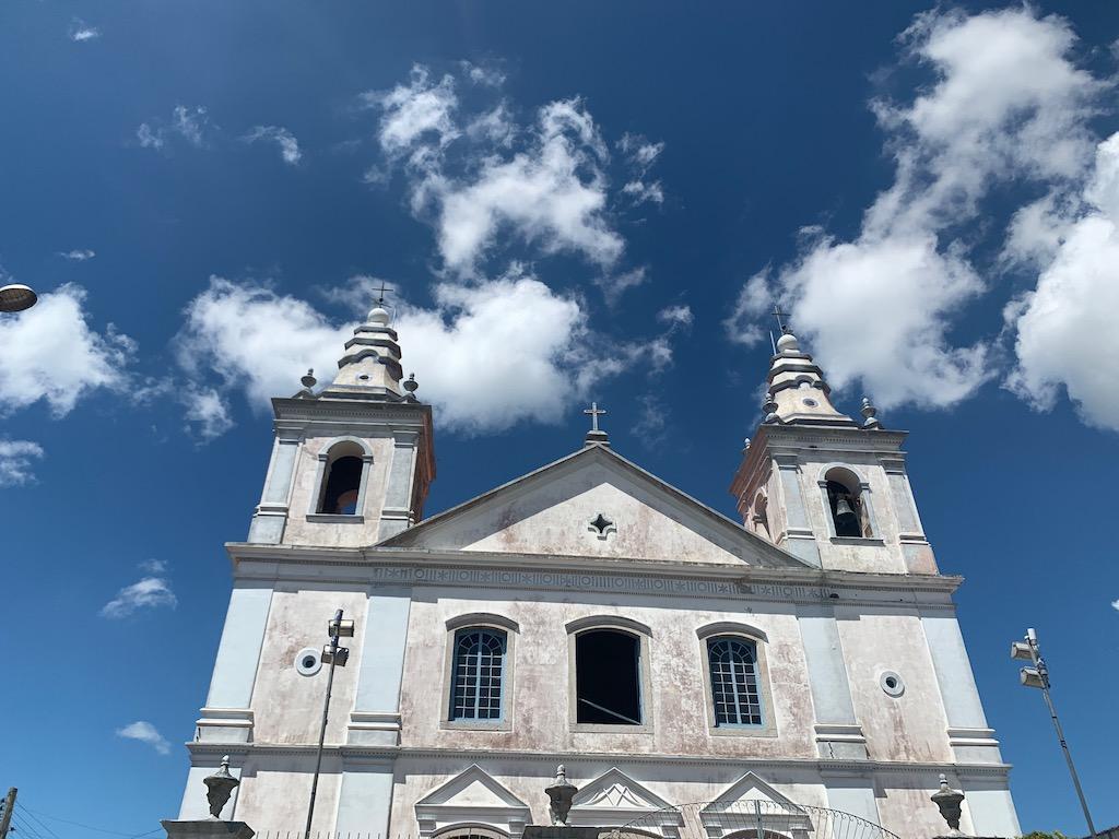 fachada da igreja matriz são josé