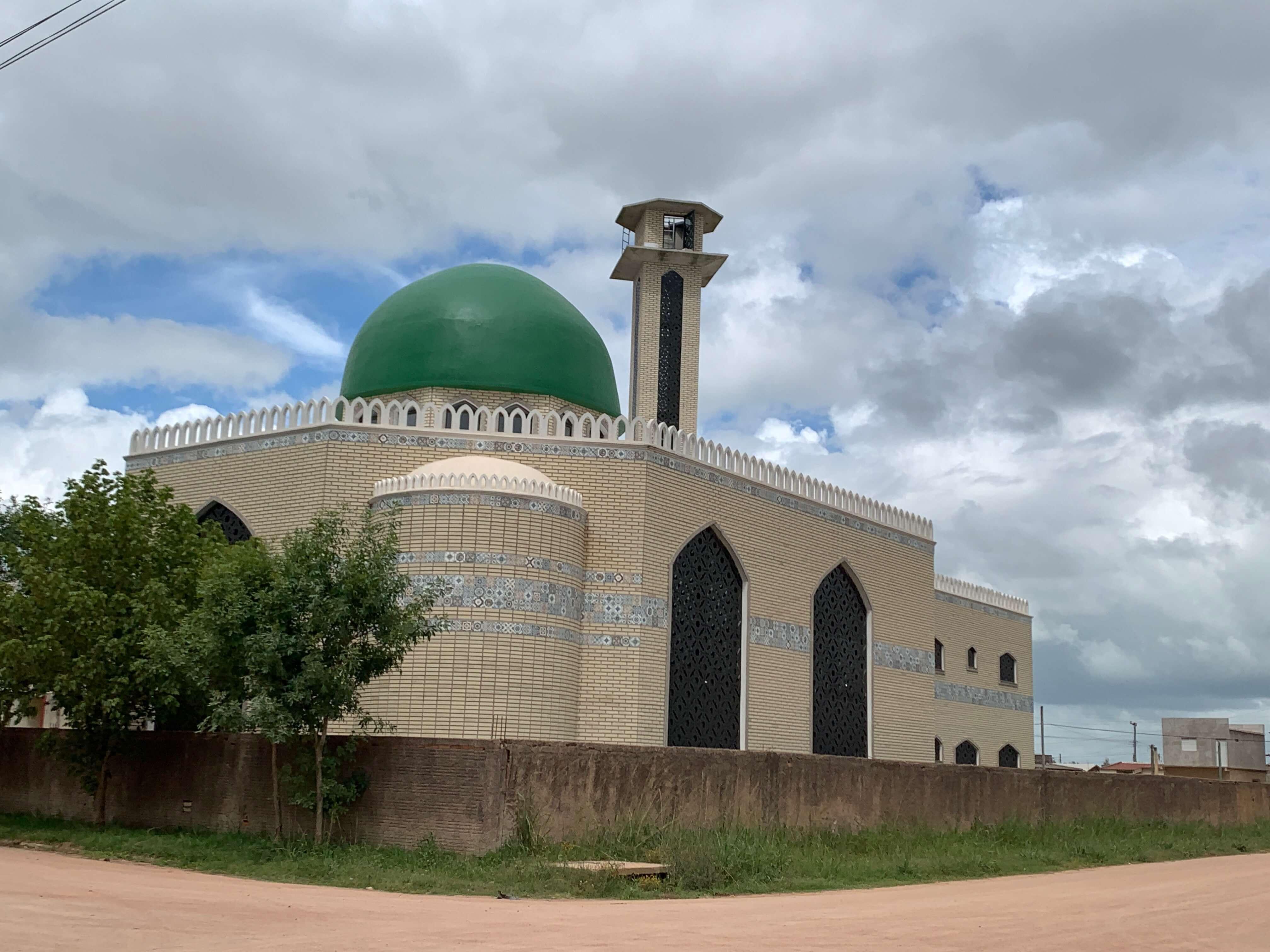 Mesquita muçulmana no Chuí