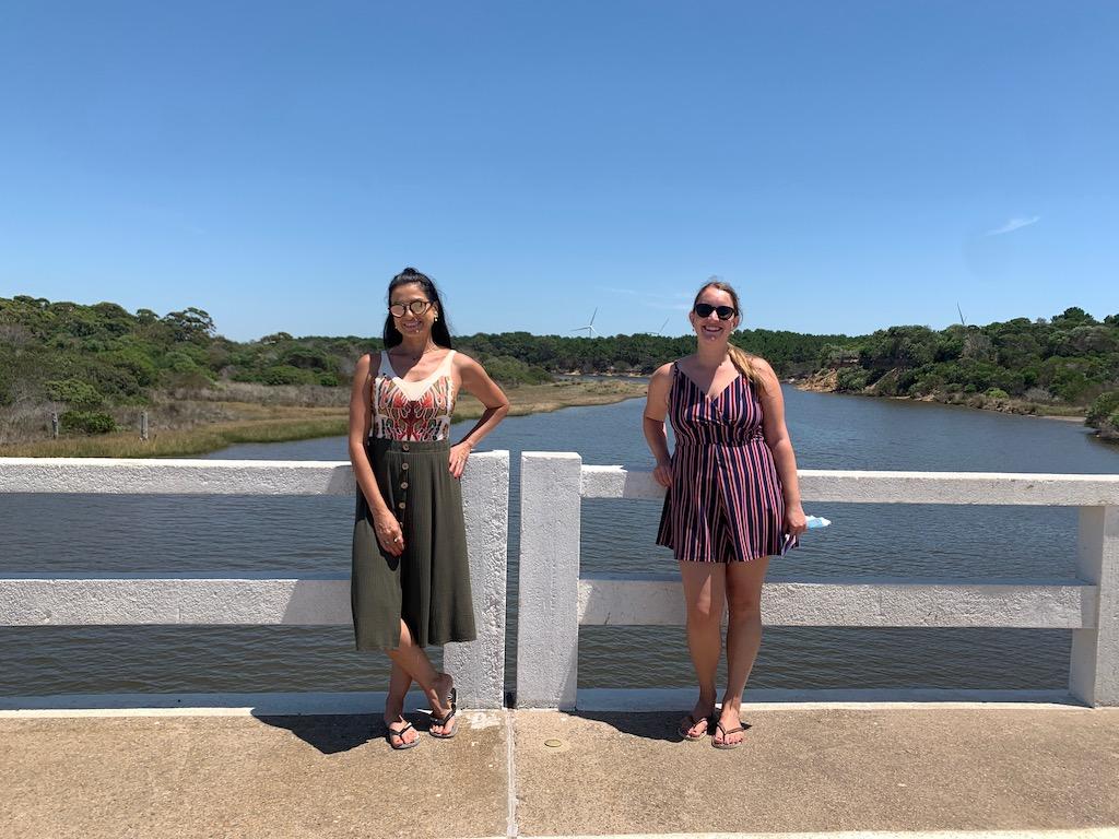 ponte internacional que divide Brasil do Uruguai