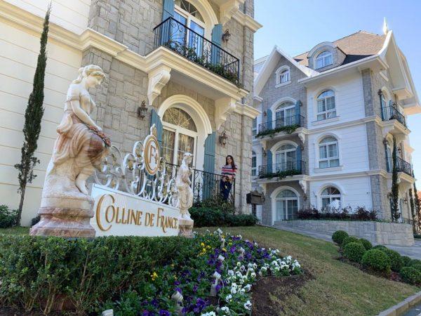 fachada do hotel Colline de France, em Gramado